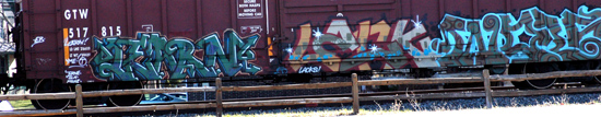 Train Graffitti 2
