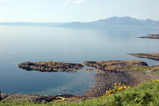 Beautiful view of Cumbrae
