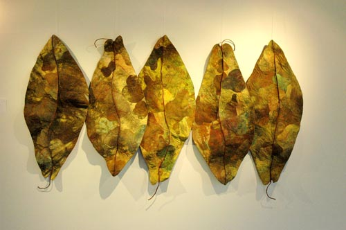 Another gorgeous leaf piece by Barbara Schneider