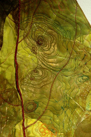 Leaf piece detail Barbara Schneider