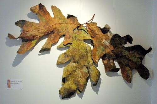 """Oak Leaf Cluster"" By Barbara Schneider"