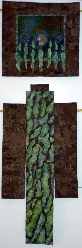 """Bark Series I"" (c) 2006 by Tracy McCabe Stewart"
