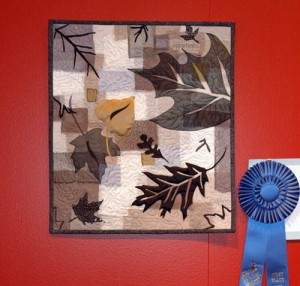 Gale wessel won the botanic challenge with this piece