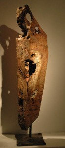 Michael Peterson wood piece